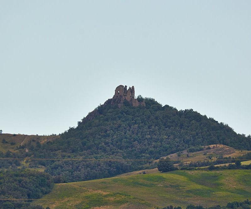 Ruderi del castello di Roccalanzona